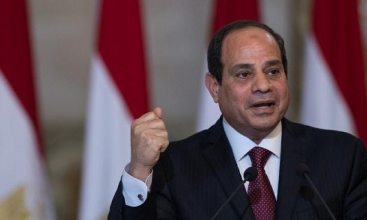 السيسى : مخطط لتنمية سيناء بتكلفة 10 مليار جنيه