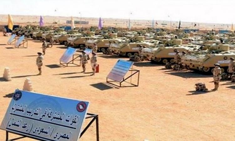 انطلاق مناورات رعد الشمال بالسعودية بمشاركة 20 دولة تتقدمهم مصر