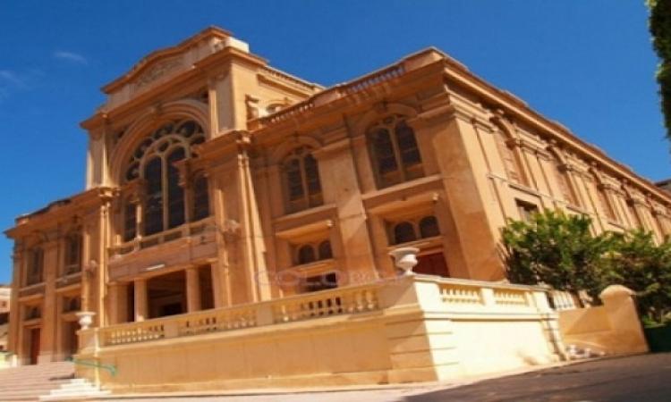 انهيار سقف بالمعبد اليهودى فى الإسكندرية لسوء الأحوال الجوية