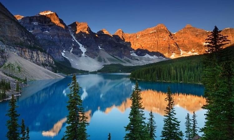 بالصور .. بحيرة الركام فى كندا .. متعة الطبيعة وسحر الخيال