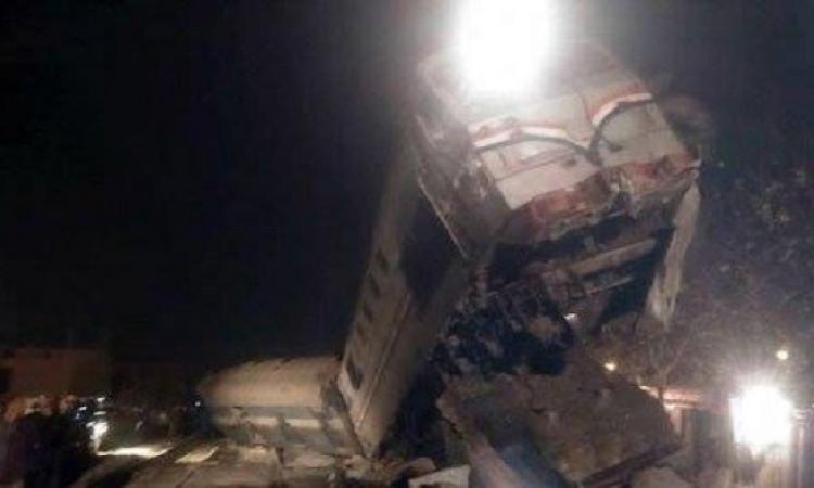 الموقع نيوز ينشر اسماء مصابى حادث قطار بنى سويف