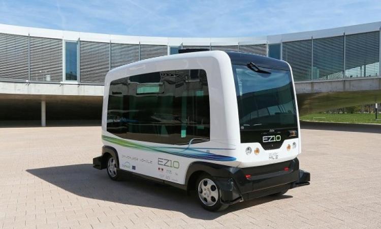 هولندا تختبر حافلة كهربائية مكوكية دون سائق