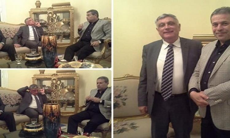 مجلس النواب يقرر التحقيق مع عكاشة بعد لقاءه السفير الإسرائيلى