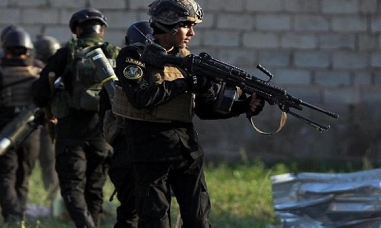 عشرات القتلى والجرحى من داعش فى عملية غربى بغداد