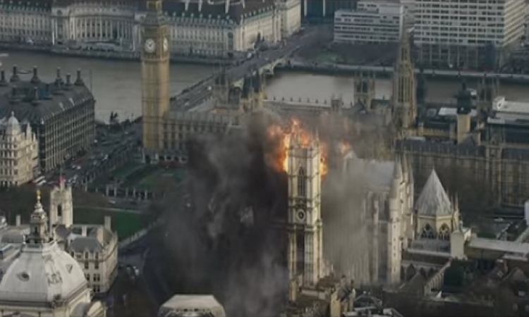 بعد 3 سنوات من سقوط البيت الابيض .. لندن تسقط الشهر المقبل !!