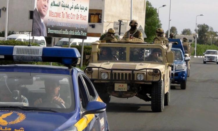 المتحدث العسكري ينشر صور تأمين «الجيش» لمؤتمر «الكوميسا»