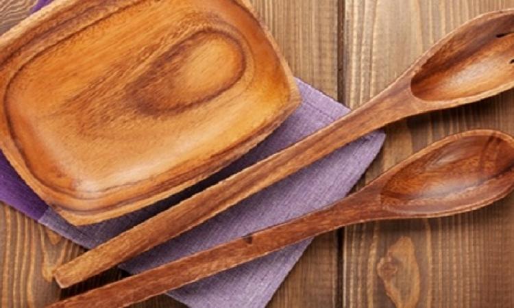 تعرفى على طرق العناية بأدوات الطهى الخشبية
