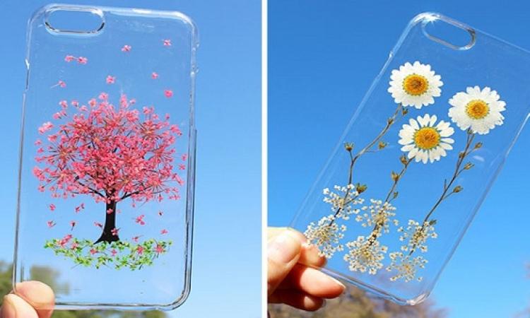 بالصور .. أغطية موبايل بزهور حقيقة احتفالاً بقدوم الربيع