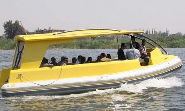 النقل : تشغيل التاكسى النهرى على محطات الأتوبيس بالقاهرة الكبرى