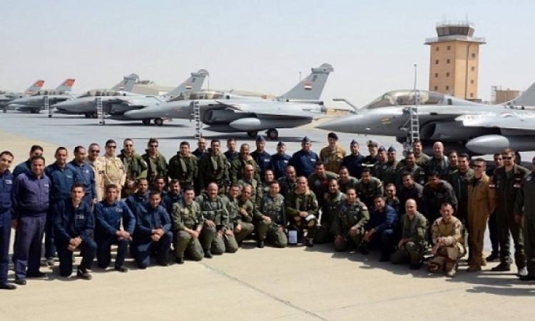 """انطلاق المرحلة الرئيسية لتدريب القوات المصرية والفرنسية """"رمسيس-2016"""""""
