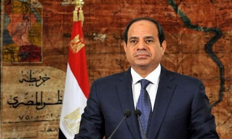 السيسى : لا أحد يستطيع البقاء فى موقع الرئاسة أكثر من الفترة المقررة