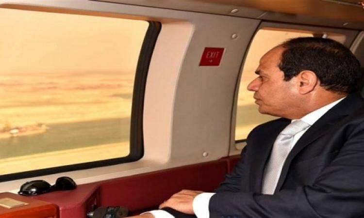 السيسى يغادر مطار القاهرة متوجها إلى السعودية
