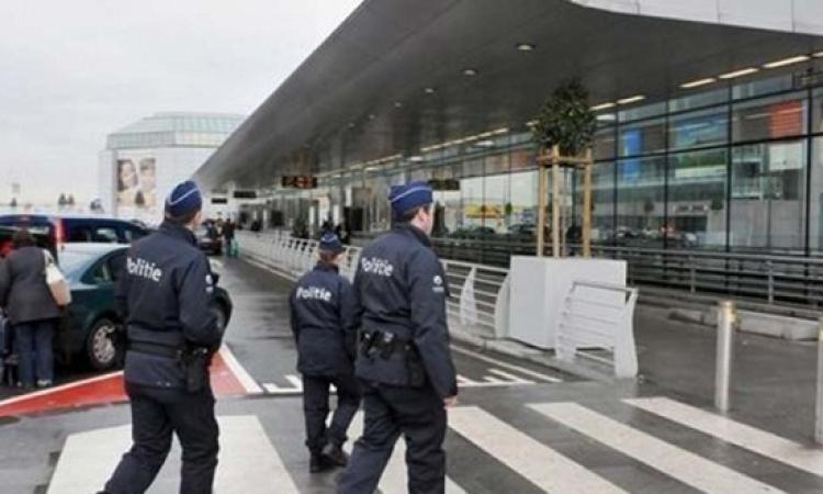 السلطات البريطانية ترفع العلم البلجيكى فوق مقر رئاسة الوزراء