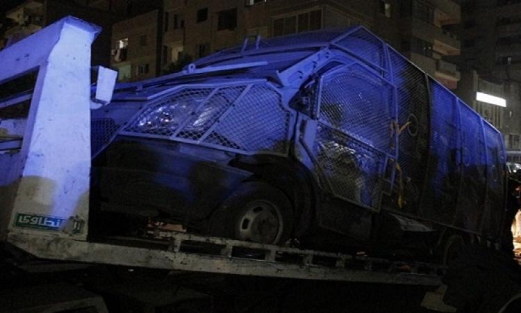 إصابة ثلاثة مواطنين وضبط أحد المتهمين فى انفجار بفيصل