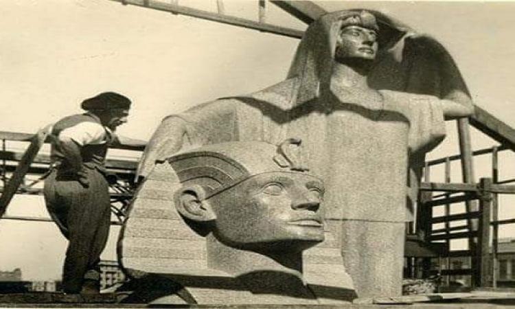 تمثال نهضة مصر .. رائعة الفنان محمود مختار