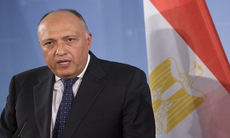 شكرى فى الخرطوم للاعداد للقمة المصرية السودانية