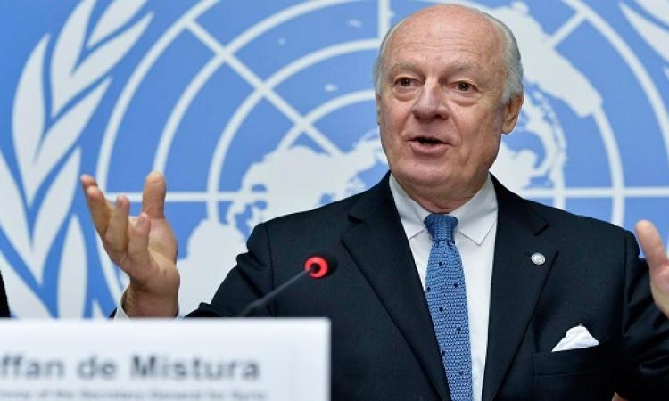 اطراف النزاع فى سوريا يبدأون مفاوضات جديدة بجنيف