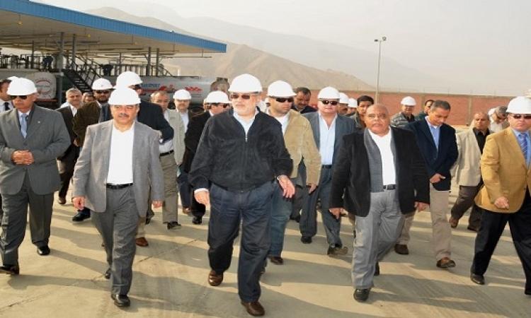 رئيس الوزراء يفتتح محطة مياه العاشر من رمضان