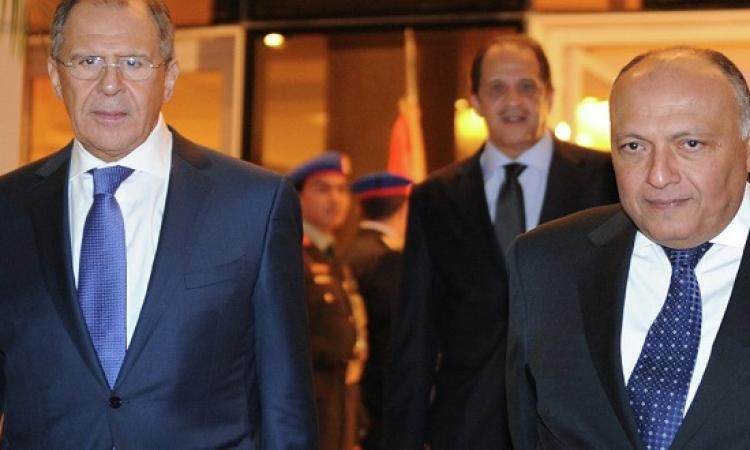 لافروف : اتفقنا مع مصر على استئناف الرحلات الجوية