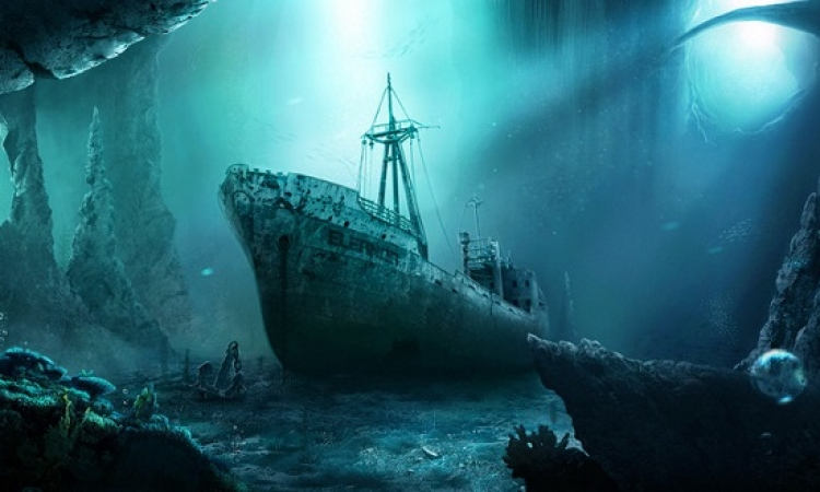 صور من الفضاء للمساعدة فى البحث عن السفن الغريقة