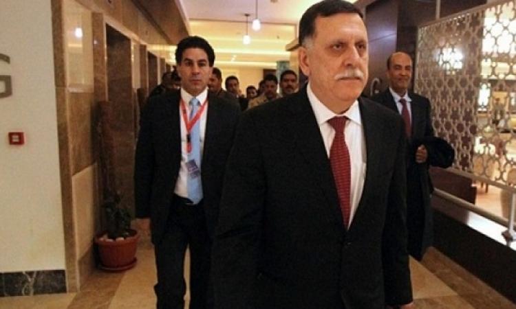 المجلس الرئاسى الليبى يصل طرابلس بحراً