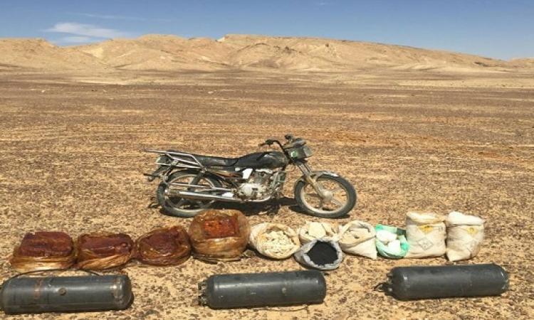 الجيش يضبط مخزن متفجرات بجبل الحلال فى شمال سيناء