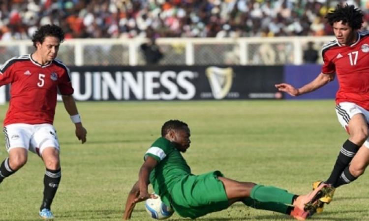 الفراعنة يفوزون على نسور نيجيريا فى تصفيات أمم أفريقيا