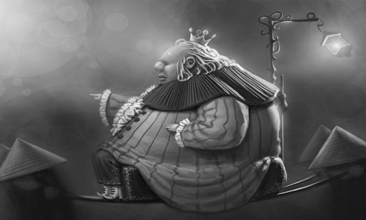 حكاية الملك السمين الحائر والنبوءة الزائفة