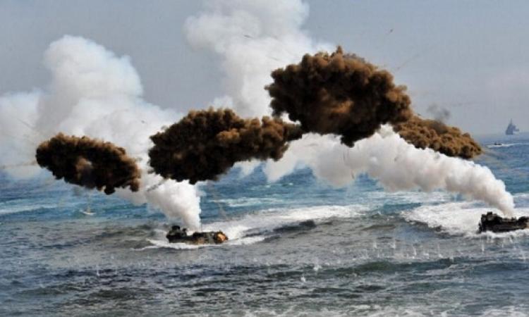 مناورات امريكية كورية تزامنا مع تهديدات بيونج يانج