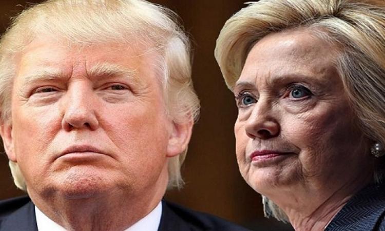 كلينتون تتقدم على ترامب بـ 4 %قبل ساعات من اول مناظرة بينهما