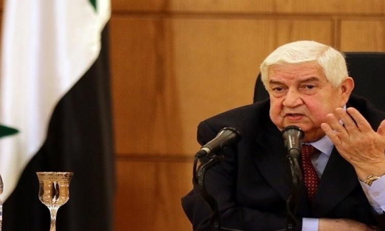 المعلم : من فشل فى اليمن لن يفلح فى سوريا !!