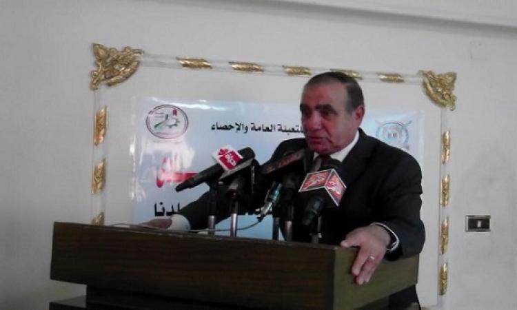 أبو بكر الجندى: إعلان النتائج النهائية للتعداد السكانى نهاية أغسطس