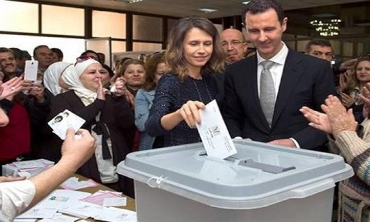 قائمة البعث تحصد الاغلبية فى الانتخابات السورية
