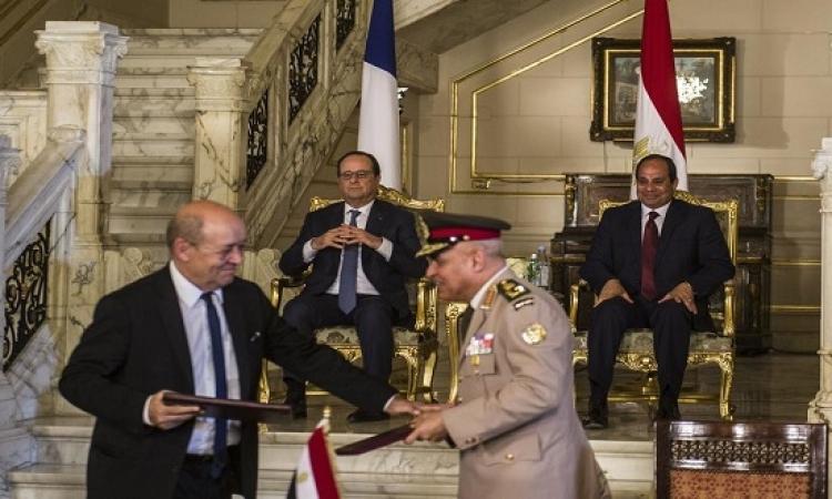 اتفاقات مصرية – فرنسية بـ 300 مليون يورو
