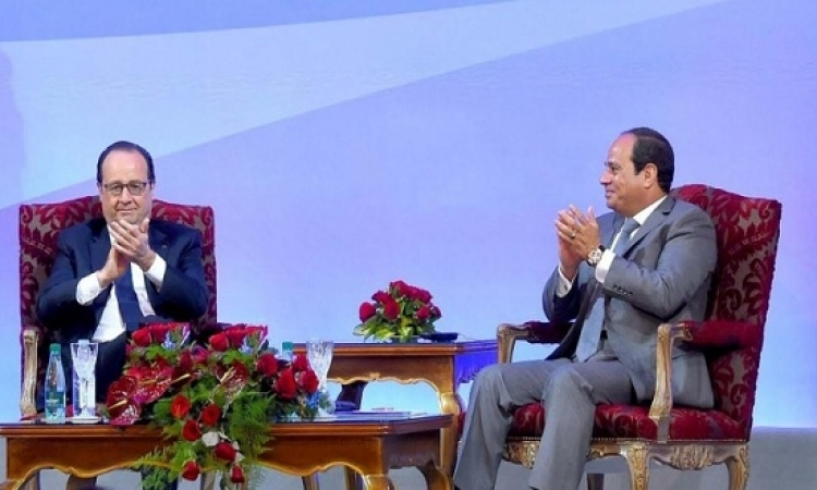 تفاصيل الاتفاقيات الموقعة بين مصر وفرنسا