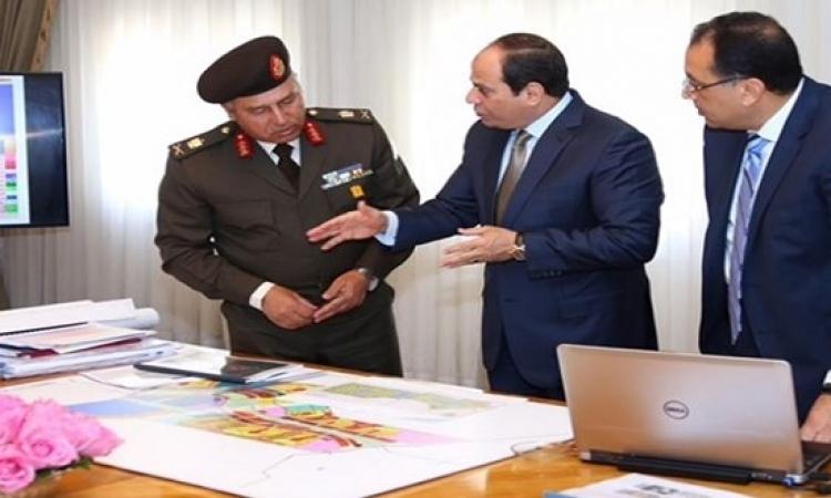 وزير الإسكان يعلن بدء حفر الحى السكنى بالعاصمة الإدارية الجديدة