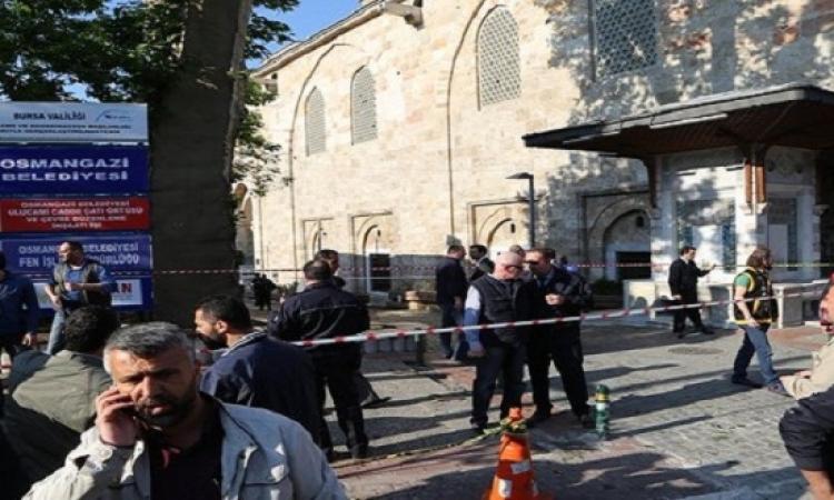 امرأة تنفذ تفجيرًا انتحاريًا بمدينة بورصة التركية