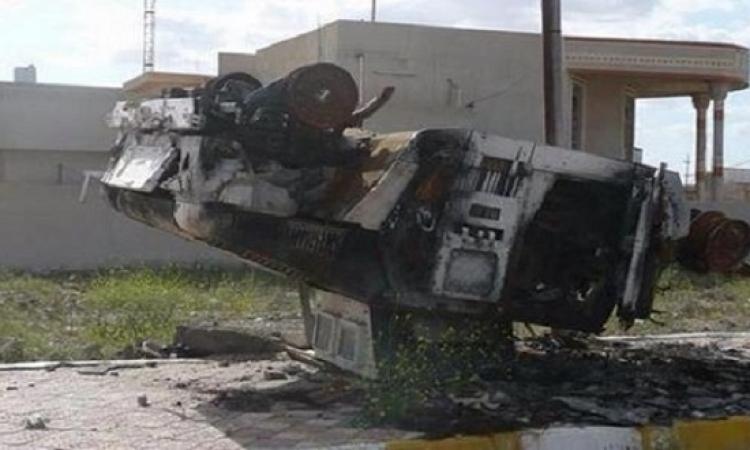 ثانى تفجير انتحارى لداعش يستهدف بوابات مصراته فى اسبوع