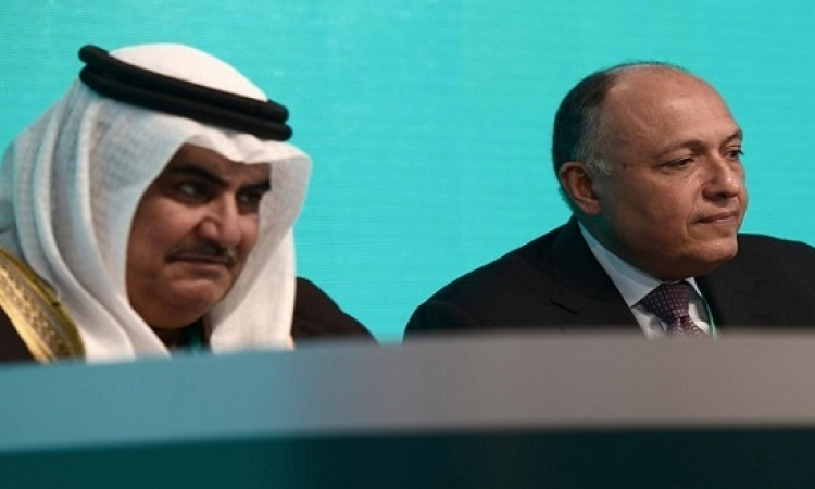 شكرى : مصر تدعم دائما وحدة واستقرار البحرين