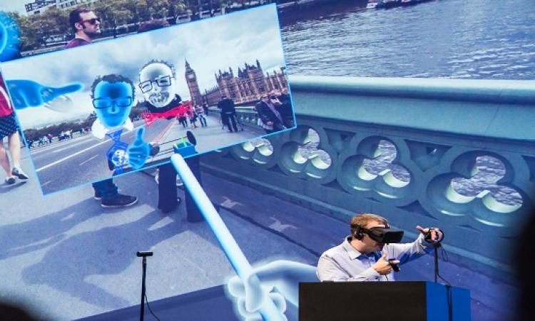 بالفيديو .. فيس بوك تكشف عن عصا سيلفى بتقنية الواقع الافتراضى