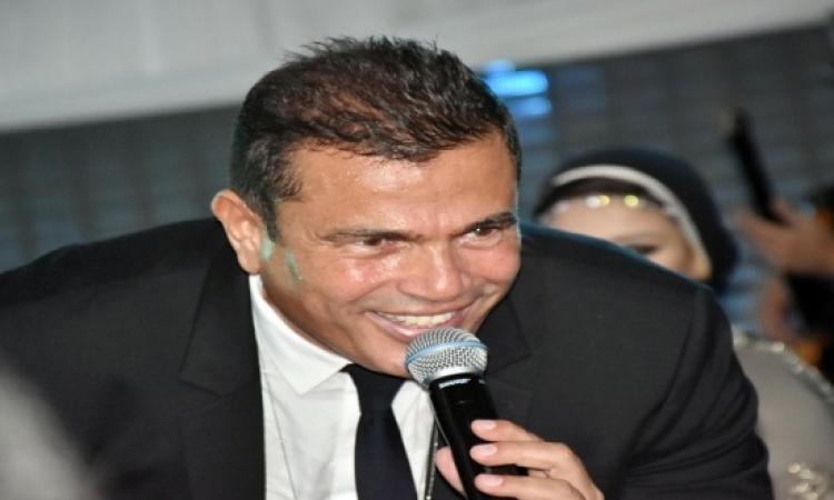 بالصور .. عمرو دياب يعلن موعد طرح ألبوم أحلى واحلى