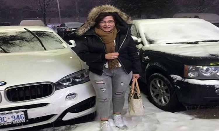 بعد الحكم بحبسها .. فاطمة ناعوت تنشر صورها فى كندا