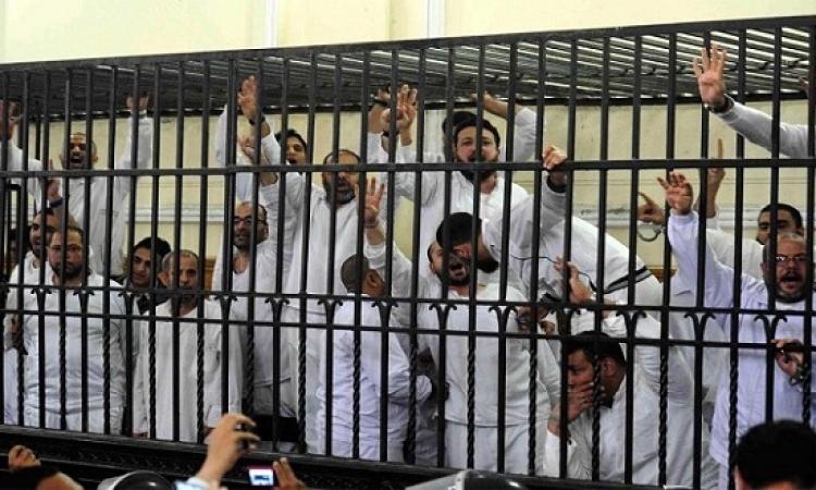 أحكام بالسجن المؤبد والمشدد للمتهمين فى قضية سجن بورسعيد