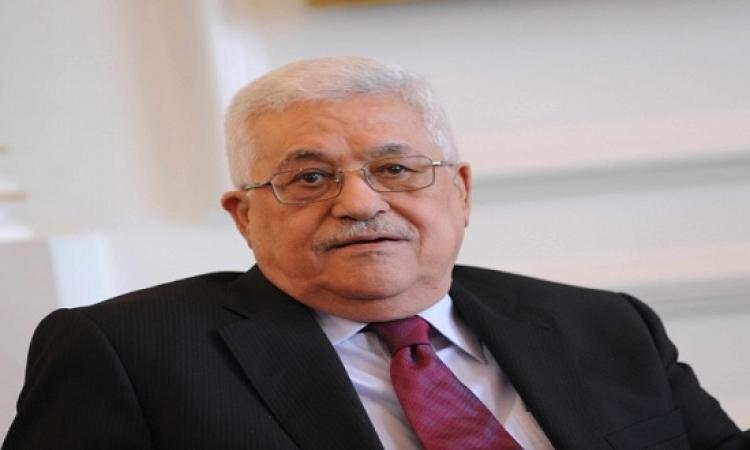 الرئيس الفلسطينى: موافقة إسرائيل على حل الدولتين بداية الحل السياسى
