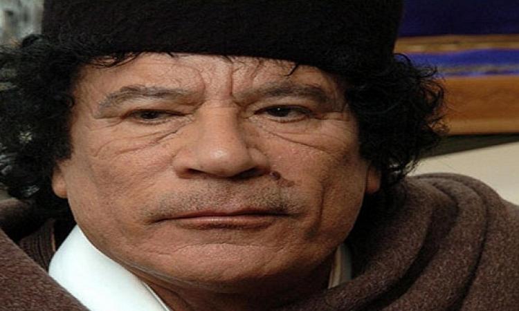 حقيقة لجوء القذافى لمساعدة إسرائيل قبل مقتله بأيام