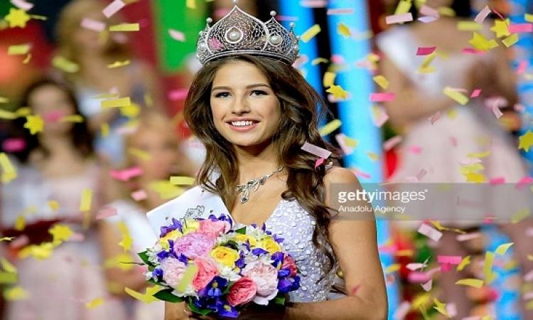 بالصور .. صاروخ من تيومين تخطف لقب ملكة جمال روسيا