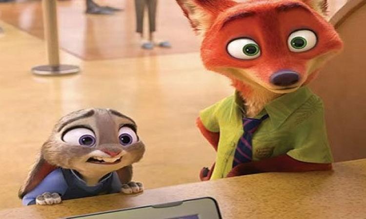 """بالفيديو..""""Zootopia"""" يتصدر قائمة الأفلام الأعلى إيرادات"""