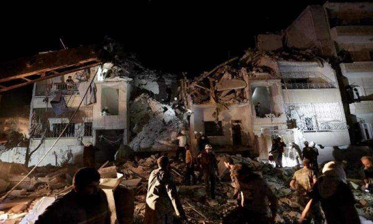 موسكو تنفى شن أى غارات على إدلب السورية