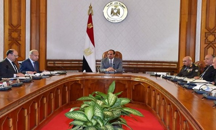 السيسى يترأس اجتماع مجلس الأمن القومى لبحث أزمة الطائرة