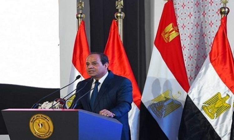 السيسى فى افتتاح مشروع الأسمرات : لا نقبل الإساءة لسيدات مصر